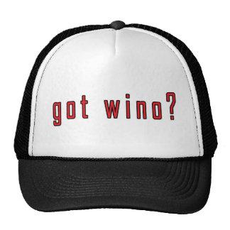 got wino? trucker hat