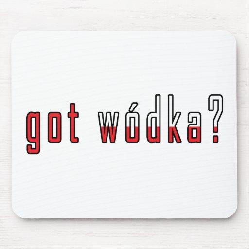 got wodka? Flag Mouse Pad