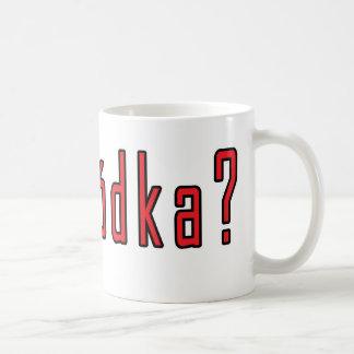 got wodka? classic white coffee mug