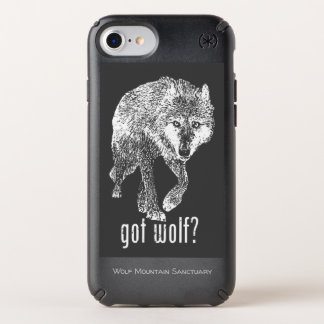 GOT WOLF? - Wolf Mountain Sanctuary IPhone Case