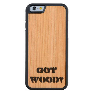 got wood iPhone 6 case Carved® Cherry iPhone 6 Bumper