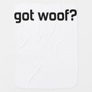 Got Woof? Baby Blanket