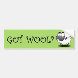 GOT WOOL? Bumper Sticker