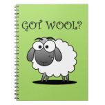 GOT WOOL? Journal Note Book