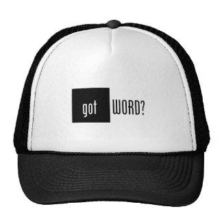 Got Word? Hat