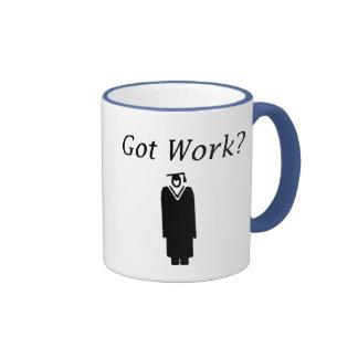Got Work Ringer Coffee Mug