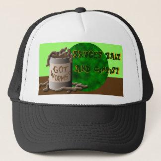 Got Worms? Bruce's Bait & Compost Trucker Hat