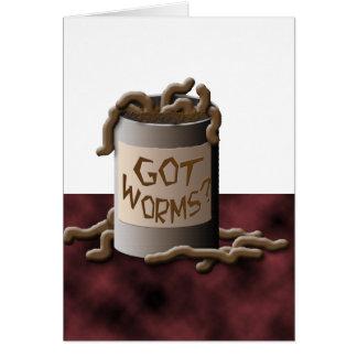 Got Worms? Card