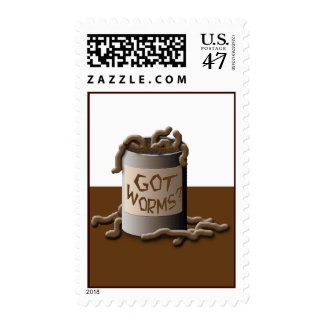 Got Worms? Postage