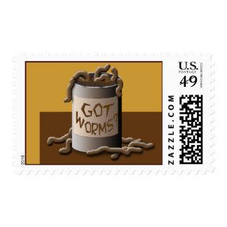 Got Worms? Stamp