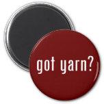got yarn? fridge magnet