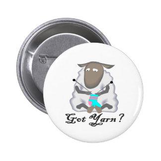 Got Yarn? T-shirts and Gifts. Pinback Button