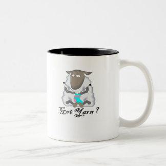 Got Yarn? T-shirts and Gifts. Two-Tone Coffee Mug