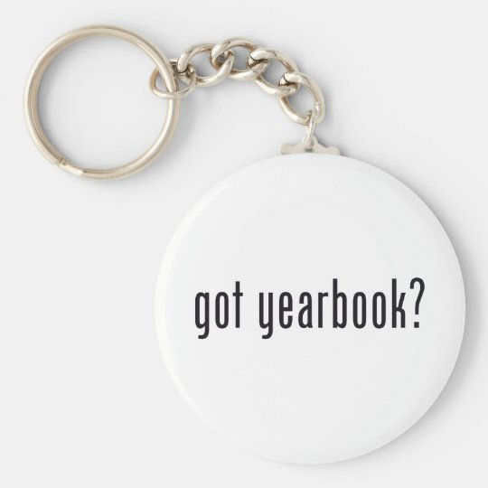 got yearbook? keychain