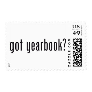 got yearbook? stamp