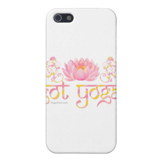 got yoga? Lotus Case For iPhone SE/5/5s