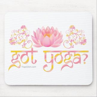got yoga? Lotus Mouse Pad