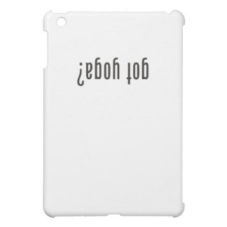 got yoga? (upside down) iPad mini covers