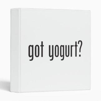 got yogurt binder