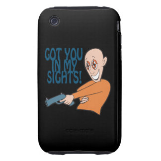 Got You In My Sights Tough iPhone 3 Cover
