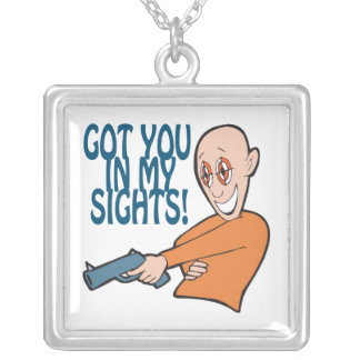 Got You In My Sights Necklace