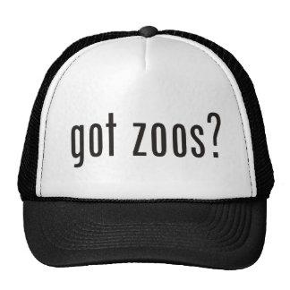 got zoos? trucker hat