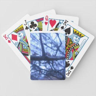 Gota de la lluvia cartas de juego