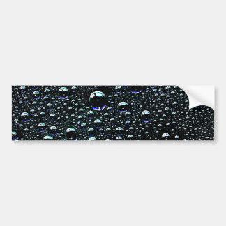 Gota de lluvia pegatina de parachoque