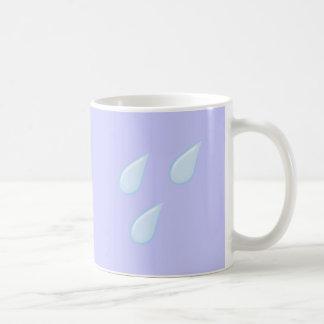 Gota de lluvia rain drops taza de café