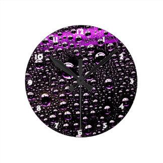 Gota de lluvia reloj