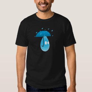 Gota de lluvia remera