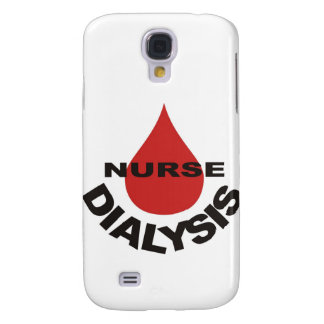 Gota de sangre de la enfermera de la diálisis enci