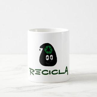 Gota recicla taza