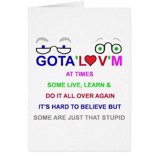 gota'l♥v'm difícilmente a Believe.png Tarjeta De Felicitación