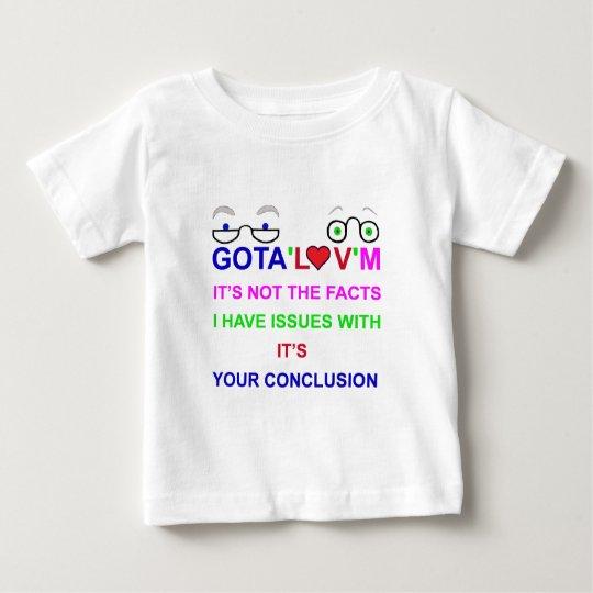 gota'l♥v'mIssues Baby T-Shirt
