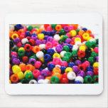 Gotas coloridas alfombrilla de raton