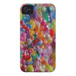 Gotas coloridas del niño Case-Mate iPhone 4 cárcasa