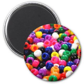 Gotas coloridas imán redondo 5 cm