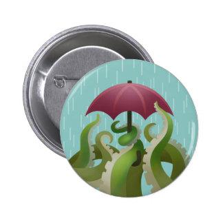 Gotas de agua: Cal Pin Redondo De 2 Pulgadas