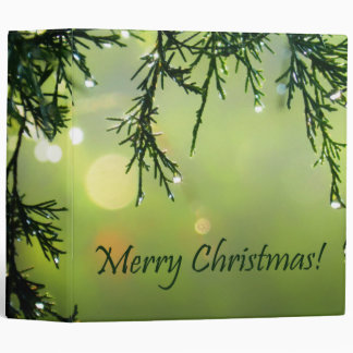 """Gotas de agua de las Felices Navidad en árbol Carpeta 2"""""""