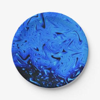 Gotas de agua de Shirley Taylor Platos De Papel