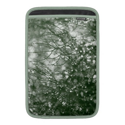 Gotas de agua fundas macbook air