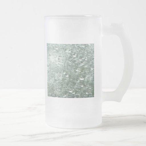 Gotas de agua tazas
