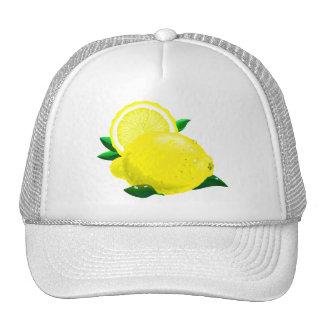 Gotas de limón gorro de camionero