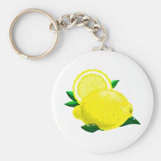 Gotas de limón llaveros