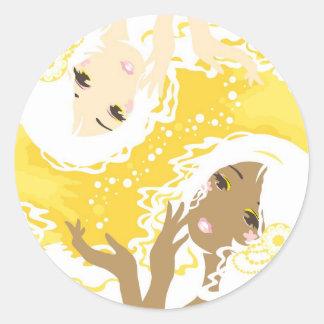 Gotas de limón - pegatinas