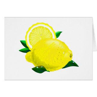Gotas de limón felicitaciones