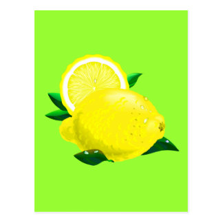 Gotas de limón postales