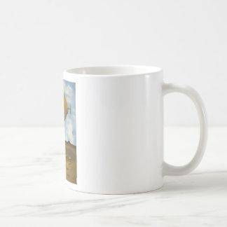 Gotas de limón tazas de café