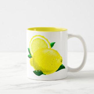 Gotas de limón tazas